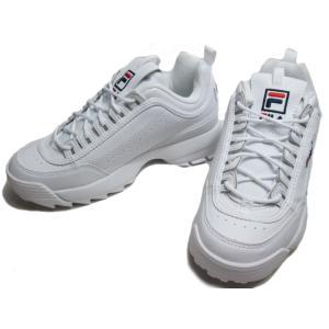 フィラ FILA ディスラプター 2 DISRUPTOR 2 F0215ダッドスニーカー ホワイト レディース 靴|nws