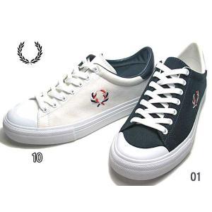 フレッドペリー FRED PERRY Breaux Vulca Canvas スニーカー メンズ 靴|nws