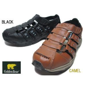 ゴールデンベア Golden Bear カジュアルサンダル スニーカーサンダル メンズ 靴|nws