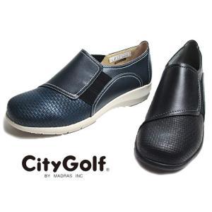 シティゴルフ City Golf GFL3244 4E スリッポン コンフォートカジュアルシューズ レディース 靴 nws