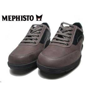メフィスト MEPHISTO GRANT ウォーキングシューズ ダークトープ メンズ 靴|nws