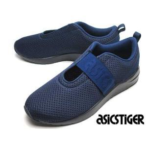 アシックスタイガー ASICS TIGER ゲルライト コマチ ストラップ ランニングシューズ スニーカー ピーコート レディース 靴 nws