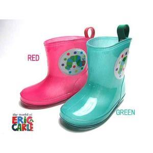 エリックカール ERICCARLE はらぺこあおむし レインブーツ 長靴 雨靴 キッズ 靴|nws