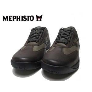 メフィスト MEPHISTO ハッボ HABBO ウォーキングシューズ ダークトープ メンズ 靴|nws
