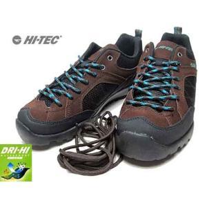 ハイテック HT-TEC HT HKM04 AORAKI WP アウトドアスニーカー ローカットスニーカー ダークブラウン メンズ 靴|nws