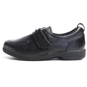 ヘルシーライフ Healthy Life 介護シューズ マジックテープ コンフォートシューズ ブラック レディース 靴|nws