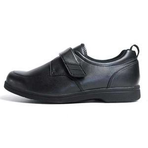 ヘルシーライフ Healthy Life 介護シューズ マジックテープ コンフォートシューズ ブラック メンズ 靴|nws