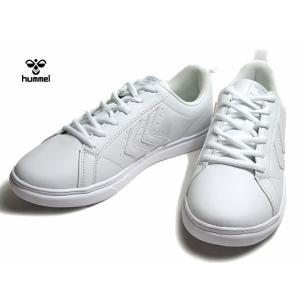 ヒュンメル hummel マインツ MAINZ 206729 ホワイトホワイト スニーカー メンズ レディース 靴|nws