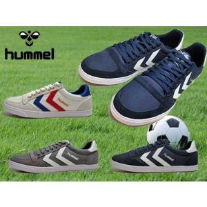 ヒュンメル hummel スリマー スタディール ロー キャンバス スニーカー メンズ レディース 靴|nws
