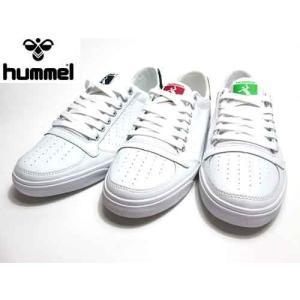 ヒュンメル hummel スリマー スタディール エース コート系モデル スニーカー メンズ レディース 靴|nws