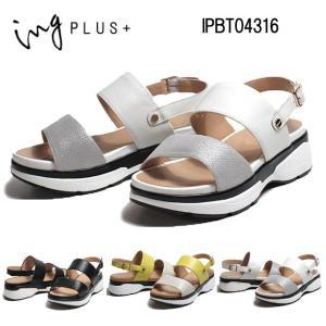 イングプラス ing PLUS IPBT04316 ダブルストラップバックベルトサンダル レディース 靴|nws