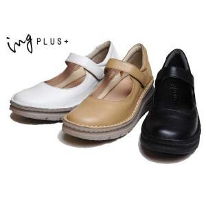 イングプラス ing PLUS + IPSQ02304 4E 厚底ストラップシューズ レディース 靴|nws