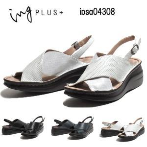 イングプラス ing PLUS IPSQ04308 3E レザーバックベルトサンダル レディース 靴|nws