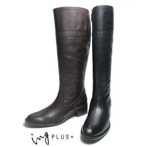 イングプラス ing PLUS + IPTF95006 ロングブーツ レディース 靴|nws