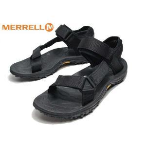 メレル MERRELL KAHUNA WEB J000779 スポーツサンダル ブラック メンズ 靴|nws