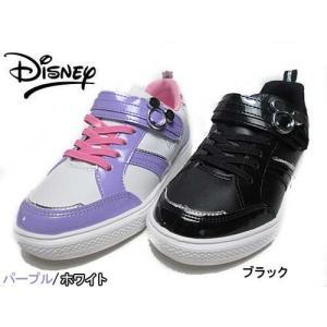 ディズニー 子供靴 ジュニアスニーカー DN J1209 ミッキーマウス&ミニーマウス ジュニアコートシューズ キッズ 靴|nws