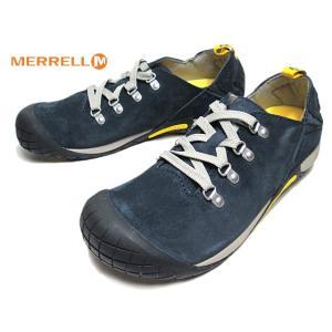 メレル MERRELL J575517 パスウェイ レース PATHWAY LACE ネイビー スニーカー メンズ 靴|nws