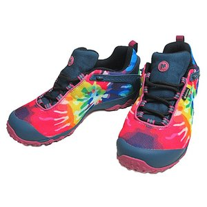 メレル MERRELL CHAM 7 STORM PRINT GTX  TIE DYE メンズ 靴|nws