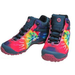 メレル MERRELL CHAM 7 STORM PRINT MID GTX  TIE DYE メンズ 靴|nws