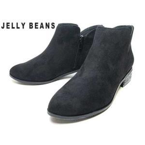 ジェリービーンズ JELLY BEANS ブーティ 黒S レディース 靴|nws