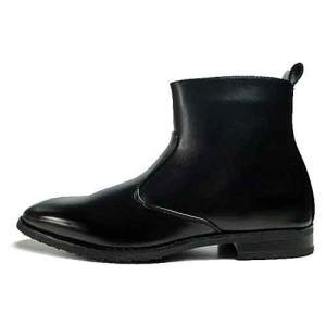 スタークレスト STAR CREST ビジネスブーツ レースアップブーツ プレーントゥ 防水仕様 ブラック メンズ 靴|nws