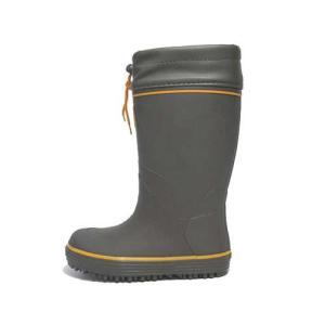 スポルディング SPALDING レインブーツ ジュニアモデル 長靴 雨靴 ラバーブーツ カラー:カーキ キッズ 靴|nws