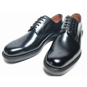 ケンフォード KENFORD ビジネスシューズ プレーントゥ 3Eウィズ ブラック メンズ 靴|nws