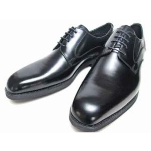 ケンフォード KENFORD 幅広3Eウィズ プレーントウ ビジネスシューズ ブラック メンズ 靴|nws