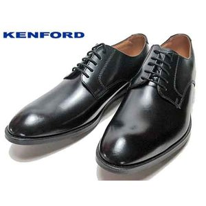 ケンフォード KENFORD KN51 プレーントゥ レースアップシューズ ビジネスシューズ ブラック メンズ 靴|nws