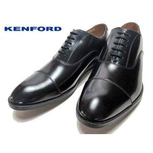 ケンフォード KENFORD KN52 プレーントゥ レースアップシューズ ビジネスシューズ ブラック メンズ 靴|nws