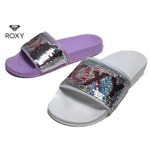 ロキシー ROXY KSD202700 スパンコール シャワーサンダル MINI SPARKLE SLIPPY レディース 靴|nws