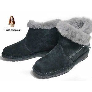 ハッシュパピー Hush puppies L-3303 カジュアルブーツ クロ レディース 靴|nws