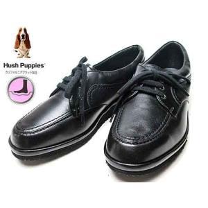 ハッシュパピー Hush Puppies レースアップシューズ ウォーキングシューズ クロ レディース 靴 nws