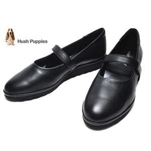 ハッシュパピー Hush puppies L-5216 ワイズ3E タウンカジュアルシューズ クロ レディース 靴|nws