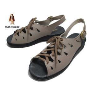 ハッシュパピー Hush puppies L-72N ベージ サンダル レディース 靴|nws