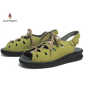 ハッシュパピー Hush puppies L-72N グリーンS サンダル レディース 靴|nws