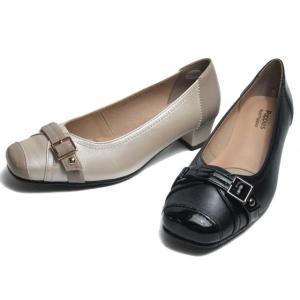 ハッシュパピー Hush puppies LC-8206 3E ベルトデザインパンプス レディース 靴|nws