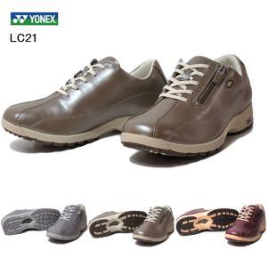 ヨネックス YONEX LC21 パワークッション レースアップ ウォーキングシューズ 靴