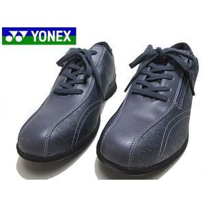 YONEX ヨネックス パワークッション LC30 ウォーキングシューズ グレイッシュネイビー レディース 靴|nws