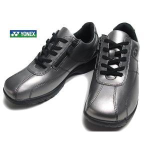 ヨネックス YONEX LC41 ウォーキングシューズ ダークシルバー レディース 靴|nws