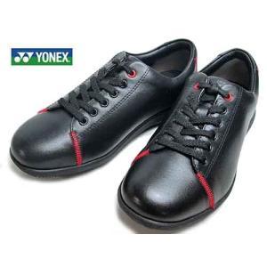 ヨネックス YONEX  レースアップウォーキングシューズ ブラック  レディース・靴|nws