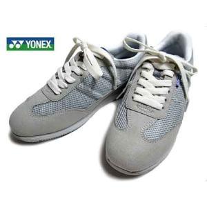 ヨネックス YONEX  レースアップウォーキングシューズ グレー  レディース・靴|nws