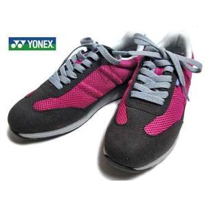 ヨネックス YONEX  レースアップウォーキングシューズ ローズ  レディース・靴|nws