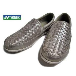 ヨネックス YONEX  コンフォートウォーキングシューズ プラチナゴールド  レディース・靴|nws