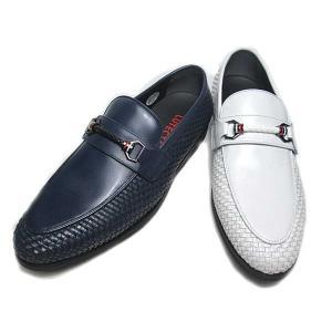 ルーテシア LUTECIA カジュアルシューズ スリッポン ビットシューズ メンズ 靴|nws