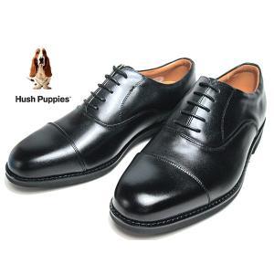 ハッシュパピー Hush Puppies ビジネスシューズ ストレートチップ レースアップシューズ スムースクロ メンズ 靴|nws