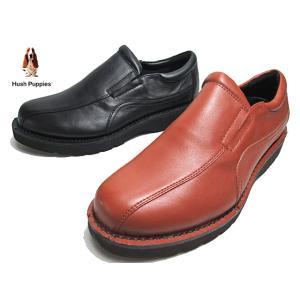 ハッシュパピー Hush puppies M-7045 スリッポン ウォーキングシューズ メンズ 靴|nws