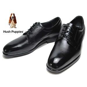 ハッシュパピー Hush Puppies ビジネスシューズ プレーントゥレースアップシューズ クロ メンズ 靴|nws