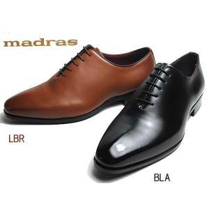 マドラス madras M351 ホールカットプレーントウ ビジネスシューズ メンズ 靴