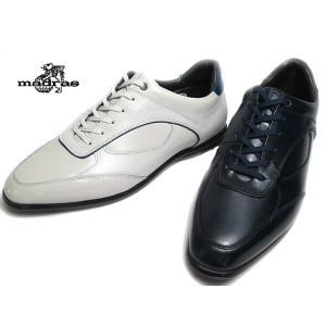 マドラス madras ドレスカジュアル レースアップスニーカー M431 メンズ 靴 nws